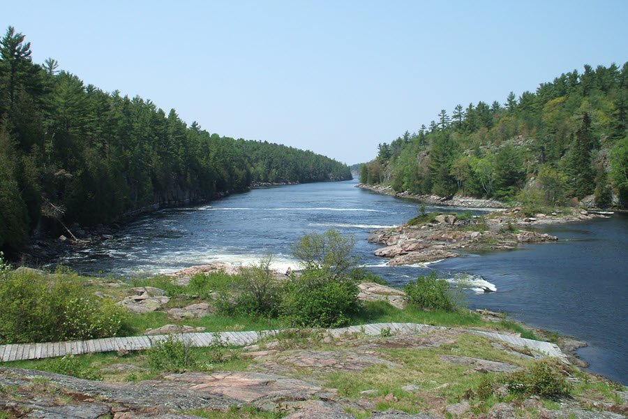 Recollet_Falls_French_River_Ontario