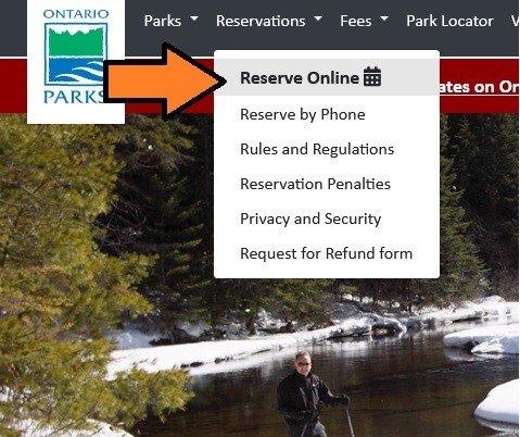 Ontario Provincial Parks - Bookings 1